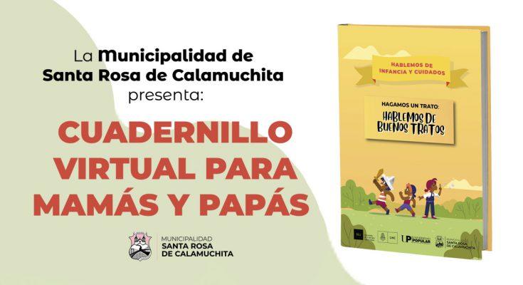 CUADERNILLO VIRTUAL PARA PADRES Y MADRES: HABLEMOS DE BUENOS TRATOS