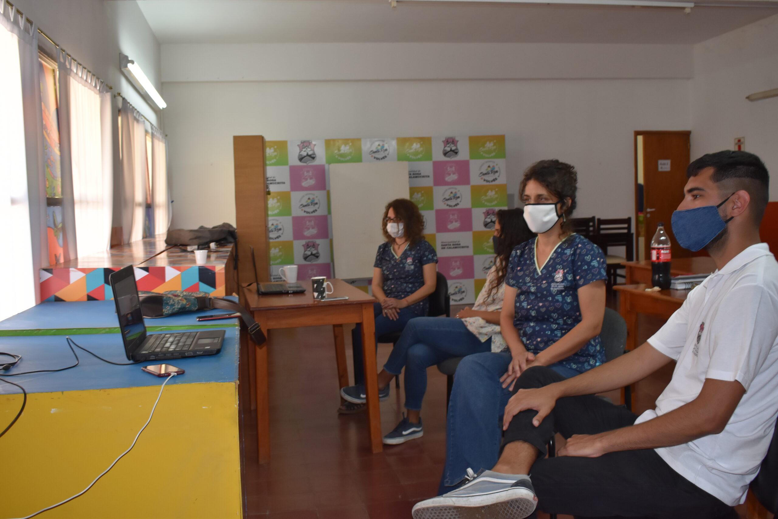 El #25N se presentó el Dispositivo de la Casa de La Mujer a Instituciones locales