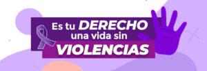 Noviembre mes de la concientización  y prevención de la violencia de género