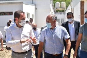 Visita del Secretario de Obras Públicas de la Nación
