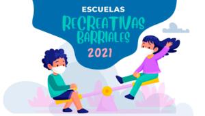 Proyecto Escuelas Recreativas Barriales Verano 2021