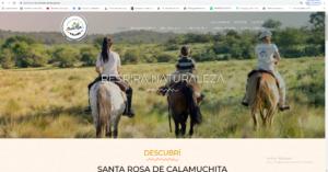 Nueva página web de la Secretaría de Turismo y Cultura.