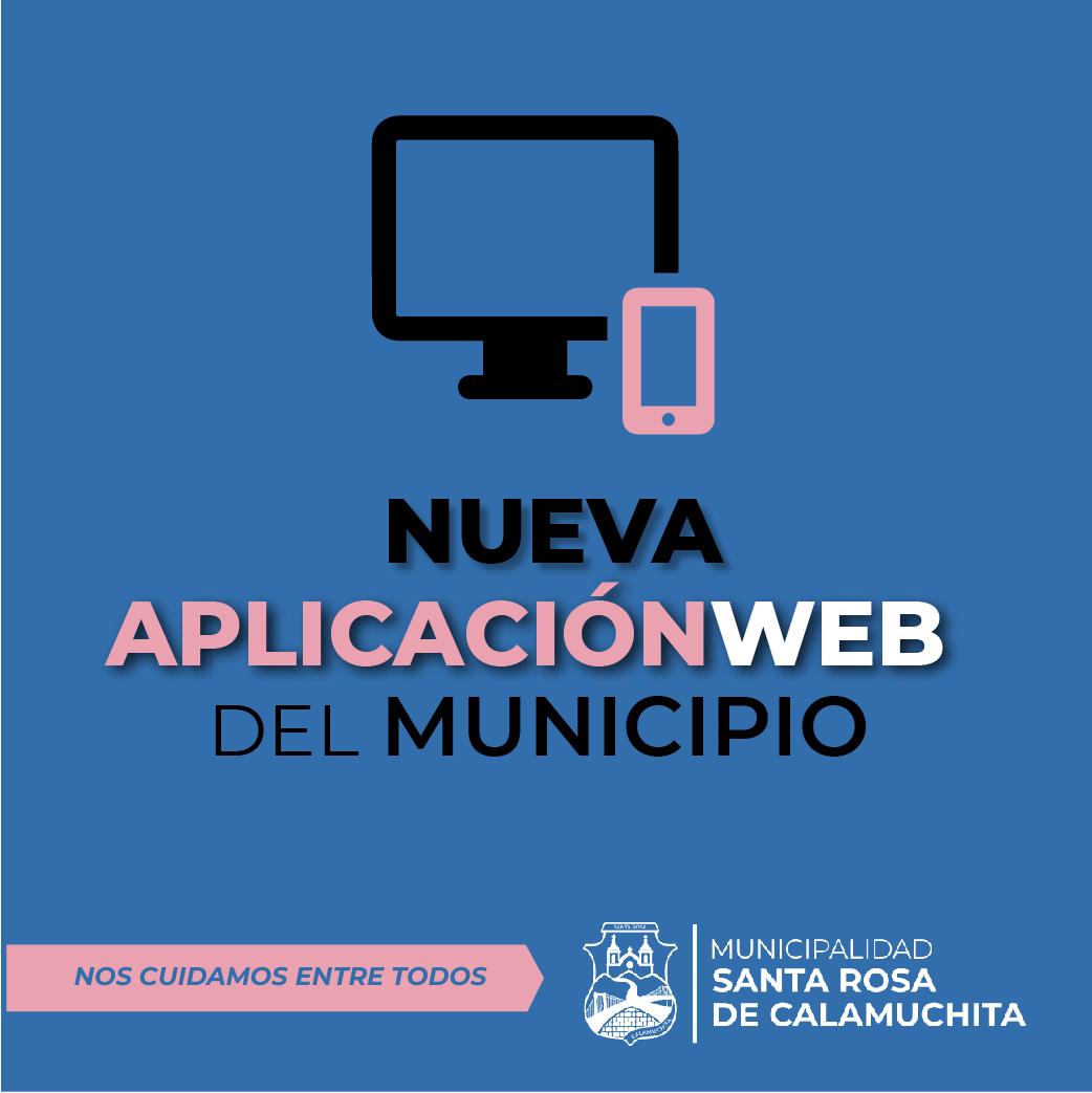 Nueva Aplicación Web del Municipio