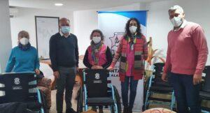 Se realizó la entrega de 13 sillas de ruedas a Instituciones de nuestra ciudad.