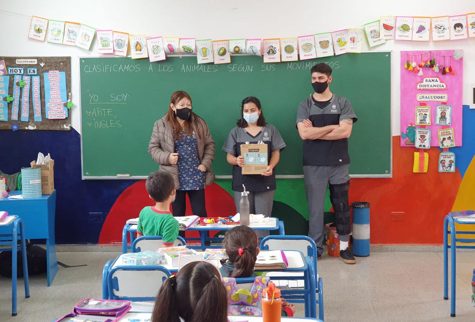 Se entregaron Kits de Salud Dental en escuelas primarias