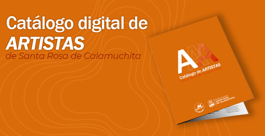 Se lanzó el Catálogo Digital de Artistas de Santa Rosa de Calamuchita